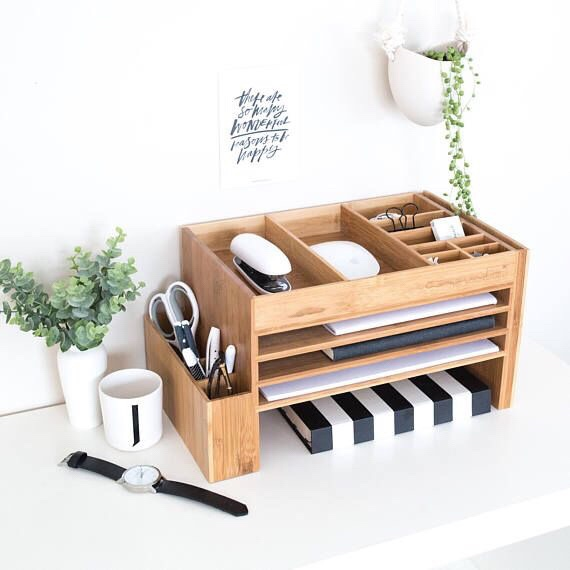 desk organiser via Etsy