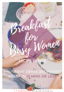 breakfast for busy women cover